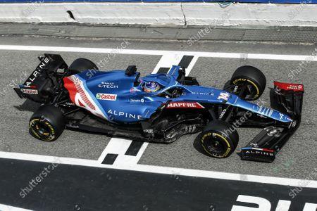 14 Fernando Alonso (spa), Alpine F1 A521, action