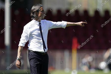 Editorial photo of Benevento Calcio vs Cagliari Calcio, Italy - 09 May 2021