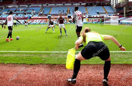 Editorial photo of Aston Villa vs Manchester United, Birmingham, United Kingdom - 09 May 2021