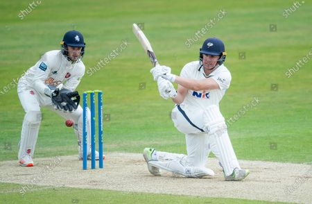 Editorial image of Yorkshire County Cricket Club v Kent County Cricket Club. Leeds, UK - 09 May 2021