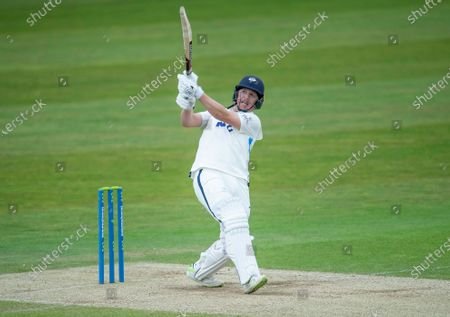 Editorial photo of Yorkshire County Cricket Club v Kent County Cricket Club. Leeds, UK - 09 May 2021
