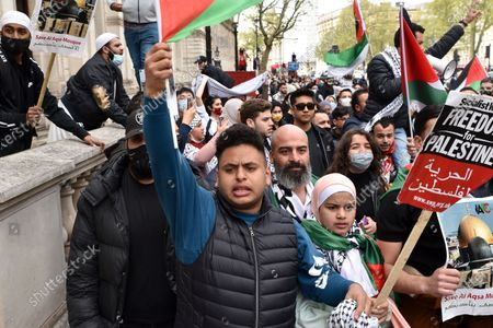 Protest for Palestine, London