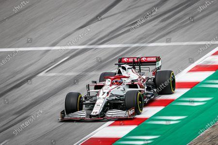 07 Kimi Raikkonen (fin), Alfa Romeo Racing ORLEN C41, action
