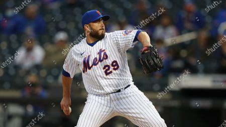 Editorial photo of Diamondbacks Mets Baseball, New York, United States - 08 May 2021