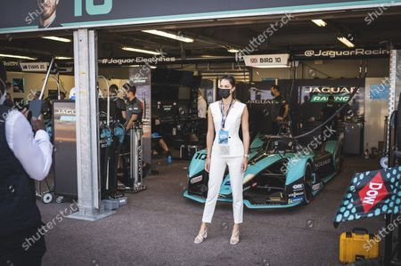 Stock Picture of Iris Mittenaere, during the Formula Electric Race of Monaco, as part of the FIA FORMULA E Championship