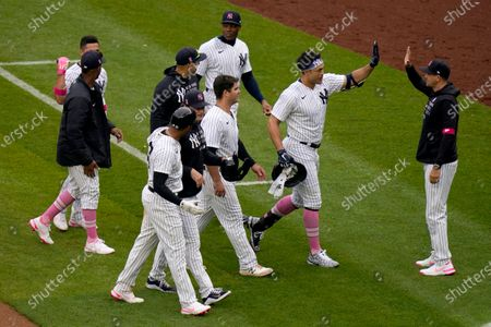 Editorial picture of Nationals Yankees Baseball, New York, United States - 09 May 2021