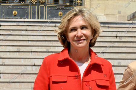 Editorial picture of Valerie Pecresse electoral campaign, Asnières-sur-Seine, France - 09 May 2021