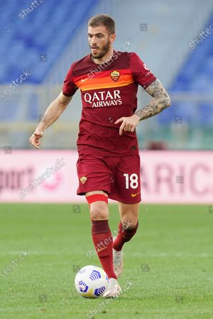 Davide Santon of AS Roma during the Serie A match between AS Roma and FC Crotone at Stadio Olimpico, Rome, Italy on 9 May 2021