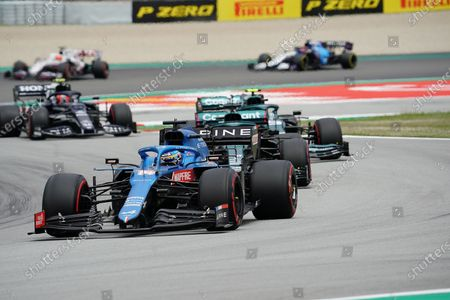 Editorial photo of F1 Aramco Grand Prix of Spain 2021, Barcelona, Spain - 09 May 2021