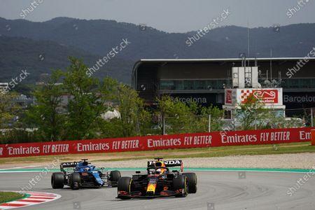 Max Verstappen (NEL #33), Red Bull Racing Honda, Fernando Alonso (ESP #14), Alpine F1 Team