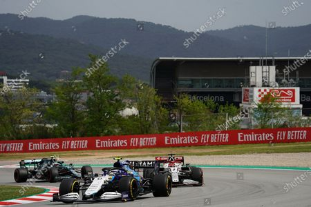 Nicholas Latifi (CAN #6), Williams Racing, Kimi Raikkonen (FIN #7), Alfa Romeo Racing ORLEN, Sebastian Vettel (DEU #5), Aston Martin Cognizant Formula One Team
