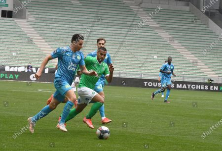 Editorial picture of AS Saint-Etienne v Olympique de Marseille, French L1, Saint Stephen, France - 09 May 2021