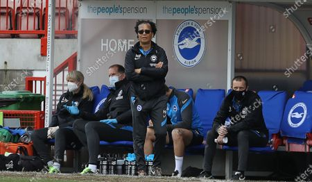 Hope Powell, Manager of Brighton and Hove Albion