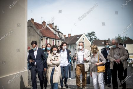 Editorial image of Campaign of regional elections, Longpont-sur-Orge, France - 09 May 2021