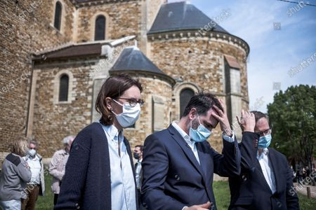 Editorial photo of Campaign of regional elections, Longpont-sur-Orge, France - 09 May 2021