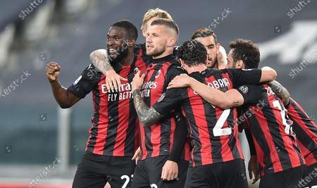 Editorial image of Juventus FC vs AC Milan, Turin, Italy - 09 May 2021