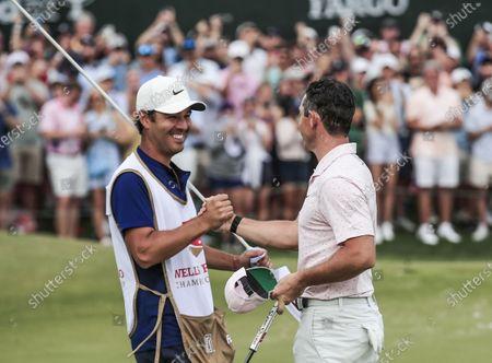 Editorial image of Wells Fargo Championship golf tournament, Charlotte, USA - 09 May 2021