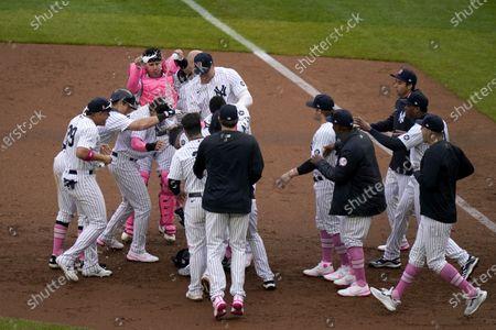 Editorial photo of Nationals Yankees Baseball, New York, United States - 09 May 2021