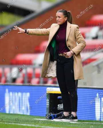Casey Stoney (Manchester United Manager)
