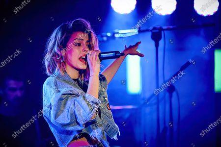 Stock Photo of Nerea Rodriguez performs at Palacio de la Prensa