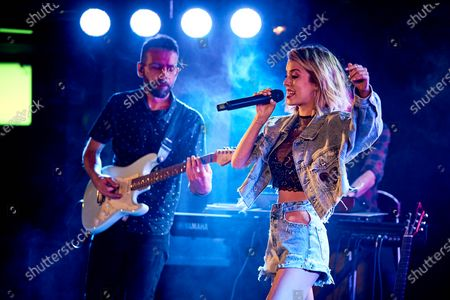 Nerea Rodriguez performs at Palacio de la Prensa