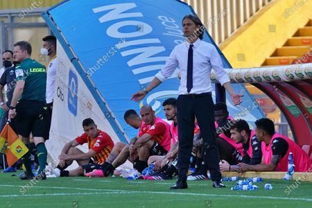 Coach Filippo Inzaghi (Benevento Calcio)