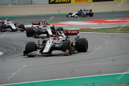 Kimi Raikkonen (FIN #7), Alfa Romeo Racing ORLEN, Antonio Giovinazzi (ITA #99), Alfa Romeo Racing ORLEN, Mick Schumacher (DEU #47), Haas F1 Team, Nicholas Latifi (CAN #6), Williams Racing