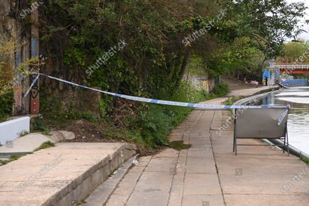 Editorial photo of Body of newborn baby found, Old Oak Common Canal, London, UK - 09 May 2021