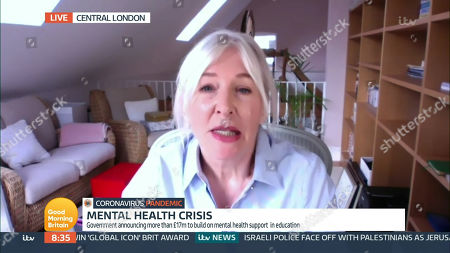 Editorial photo of 'Good Morning Britain' TV Show, London, UK - 10 May 2021