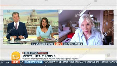 Editorial image of 'Good Morning Britain' TV Show, London, UK - 10 May 2021