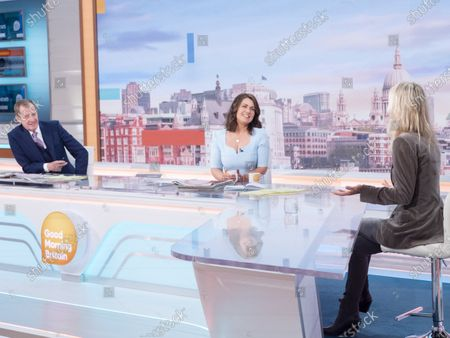 Alastair Campbell, Susanna Reid and Ulrika Jonsson