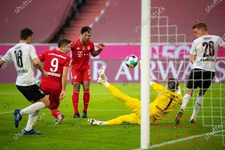 Editorial photo of FC Bayern Munich v Borussia Monchengladbach, Bundesliga football match, Munich, Germany - 08 May 2021