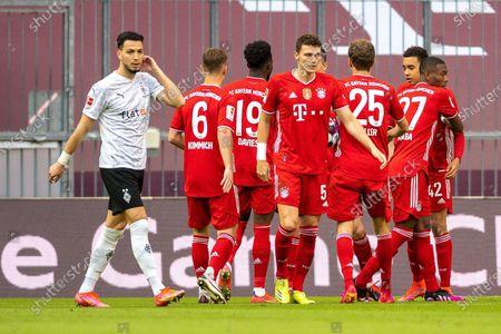 Editorial image of FC Bayern Munich v Borussia Monchengladbach, Bundesliga football match, Munich, Germany - 08 May 2021