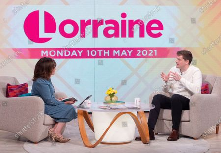 Editorial photo of 'Lorraine' TV Show, London, UK - 10 May 2021