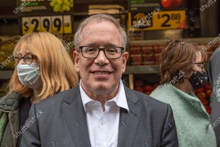 Editorial picture of Scott Stringer Campaigns in New York, US - 09 May 2021