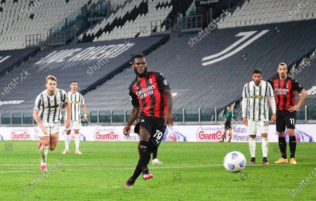 Franck Kessie' (Milan) during the match