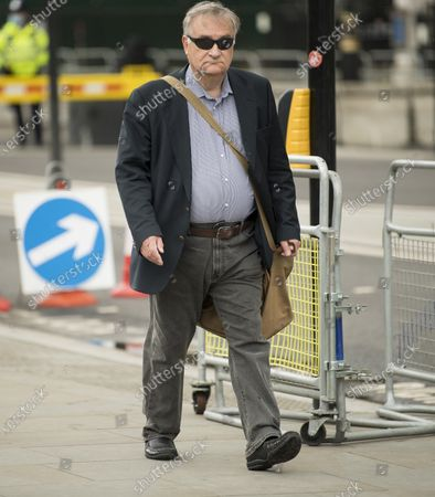 Stock Picture of Former Labour Party chief whip NICK BROWN MP is seen in Westminster. Labour Party Leader Sir Keir Starmer is expected to reshuffle his Shadow Cabinet after a series of disappointing results in elections last week.