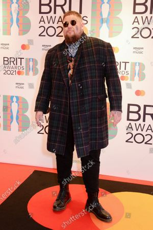 Editorial image of 41st BRIT Awards, Arrivals, The O2 Arena, London, UK - 11 May 2021