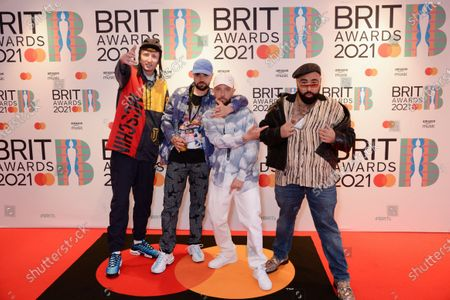 Editorial photo of 41st BRIT Awards, Arrivals, The O2 Arena, London, UK - 11 May 2021