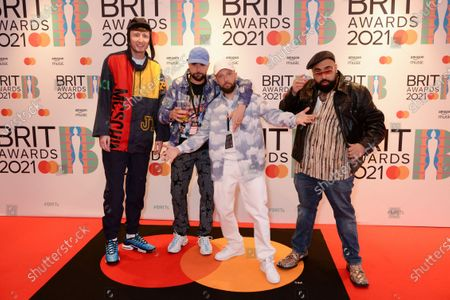 Editorial picture of 41st BRIT Awards, Arrivals, The O2 Arena, London, UK - 11 May 2021