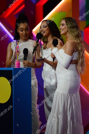 Little Mix - Leigh-Anne Pinnock, Jade Thirlwall and Perrie Edwards - British group