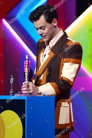 Editorial image of 41st BRIT Awards, Show, The O2 Arena, London, UK - 11 May 2021