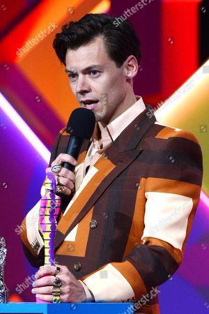 Stock Image of Harry Styles - British single - Watermelon Sugar