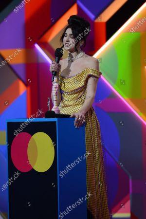 Dua Lipa wins Album of the Year