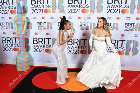 Little Mix - Little Mix - Leigh-Anne Pinnock and Perrie Edwards