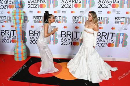 Little Mix - Leigh-Anne Pinnock and Perrie Edwards