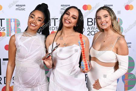 Editorial photo of 41st BRIT Awards, Press Room, The O2 Arena, London, UK - 11 May 2021