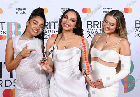 Editorial image of 41st BRIT Awards, Press Room, The O2 Arena, London, UK - 11 May 2021