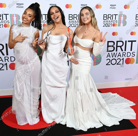 Stock Picture of Little Mix - Leigh-Anne Pinnock, Jade Thirlwall and Perrie Edwards