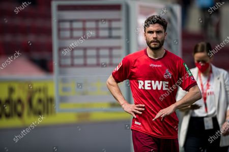 Jonas Hector (1 FC Köln, #14) frustrated after the end of the game
